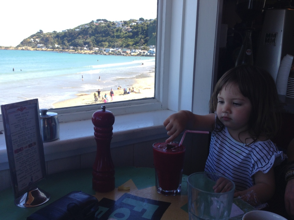 Maranui cafe, Lyall Bay