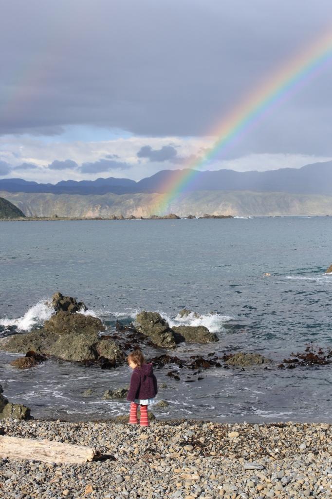 Rainbows aplenty on my southcoast runs