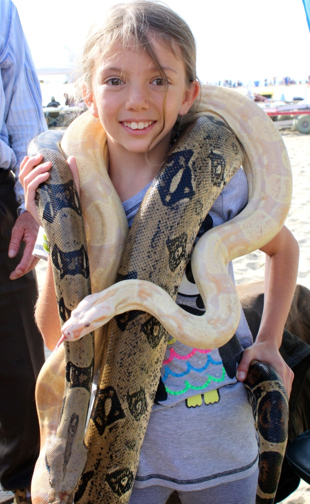 Miss 10 and 2 snakes!