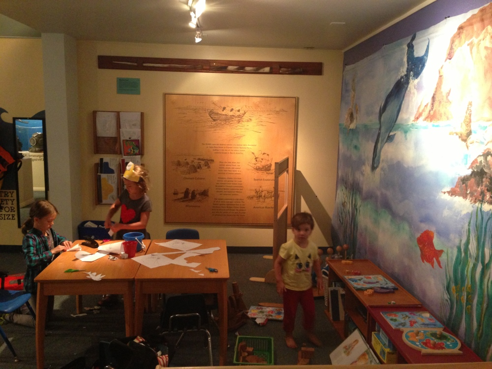 fun at the maritime museum, Santa Barbara