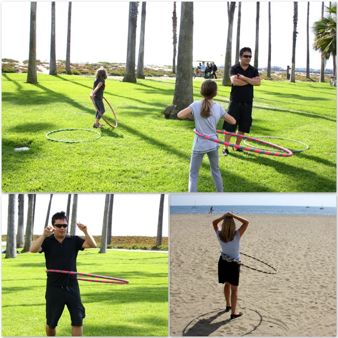 weekend hulahooping