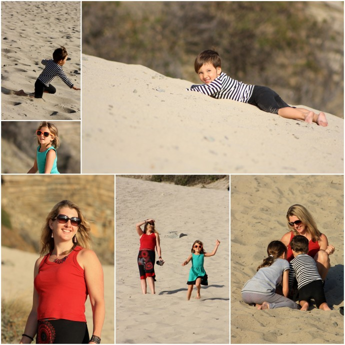 Sand dune fun California