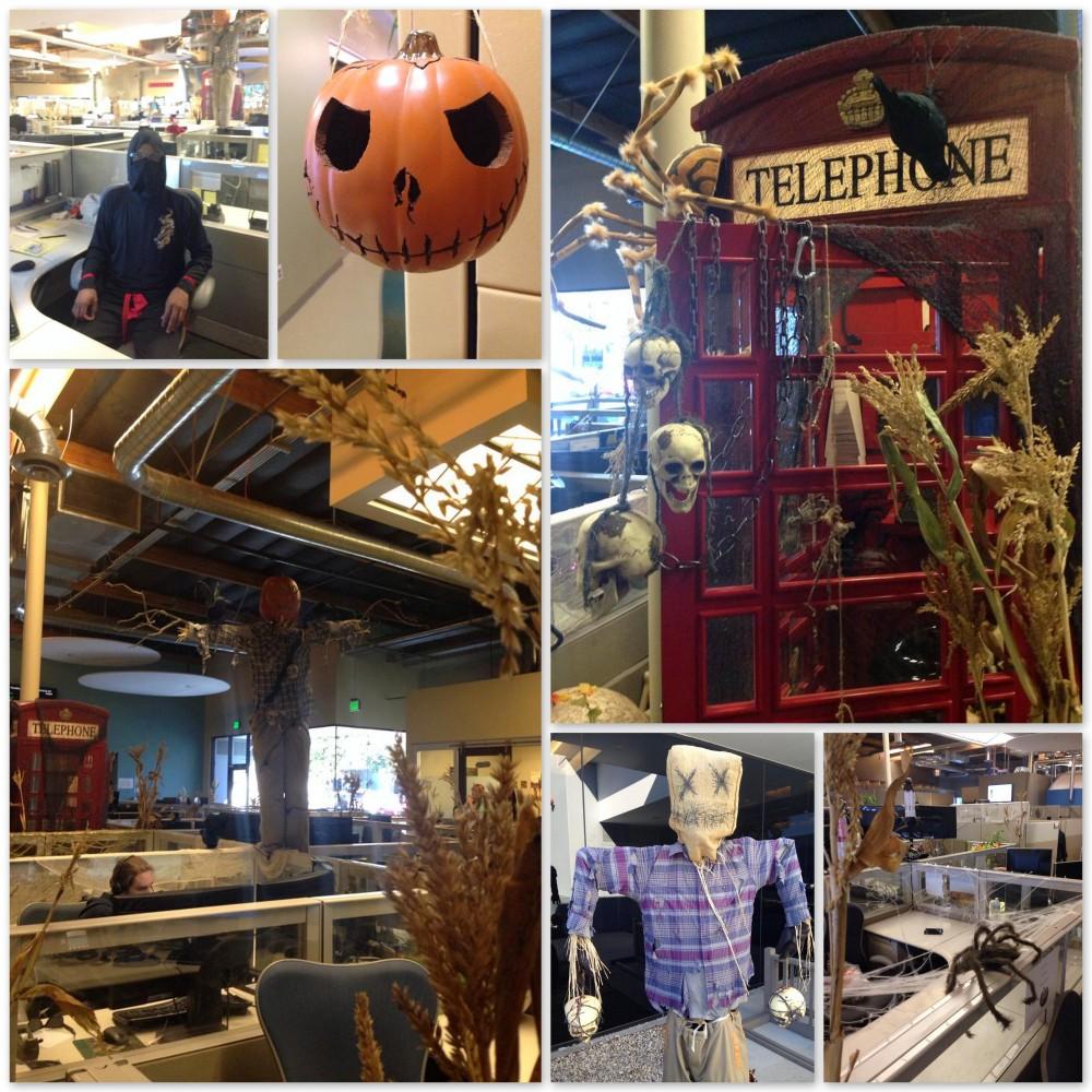 Halloween at work!
