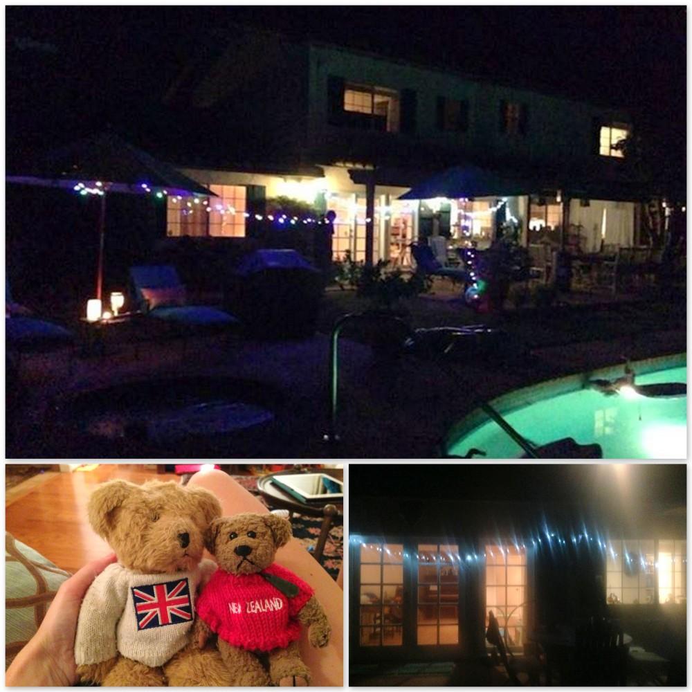 Fairy lights and teddy bears