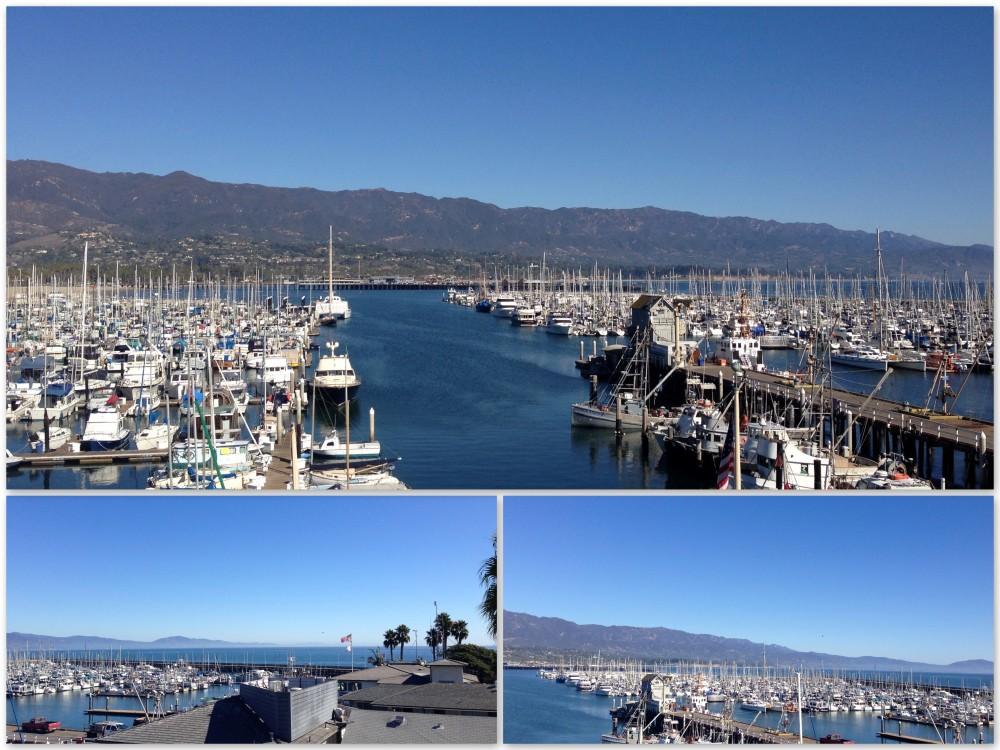 View from Santa Barbara Maritime Museum