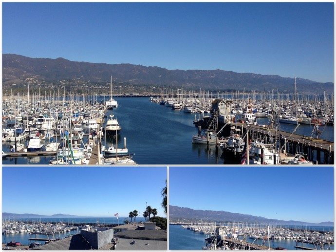 View from Santa Barbara Maritime Museum