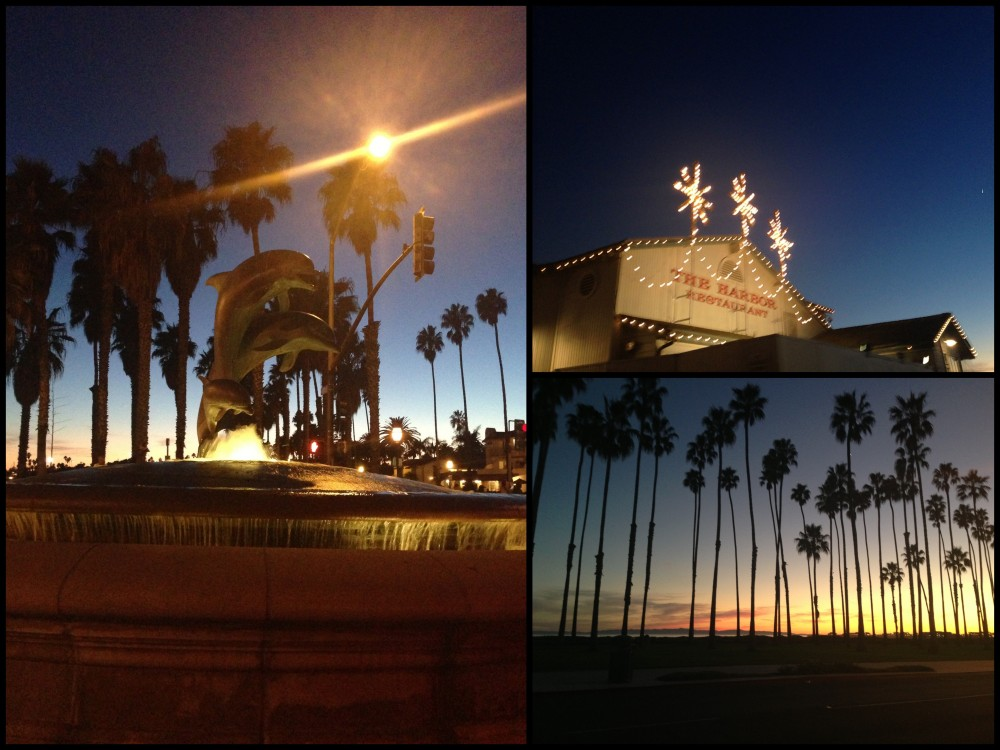 Sun down Santa Barbara