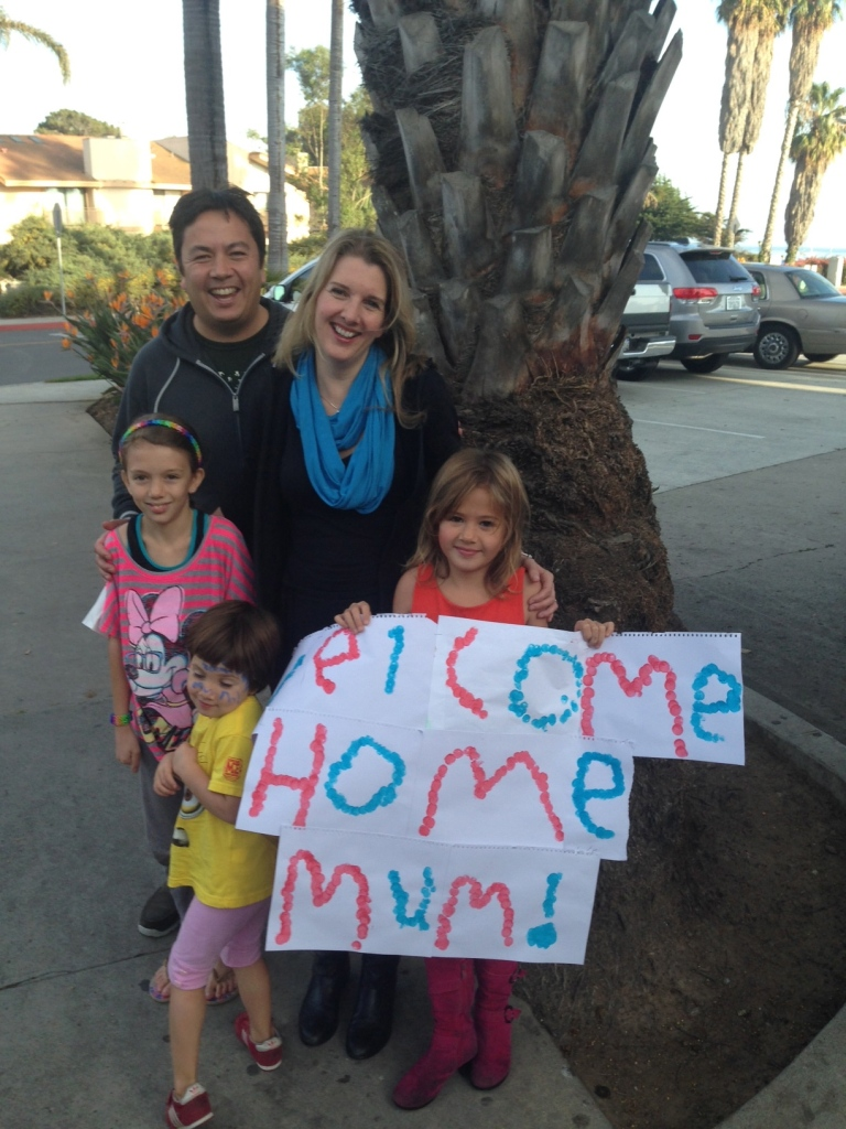 Welcome home greeting!