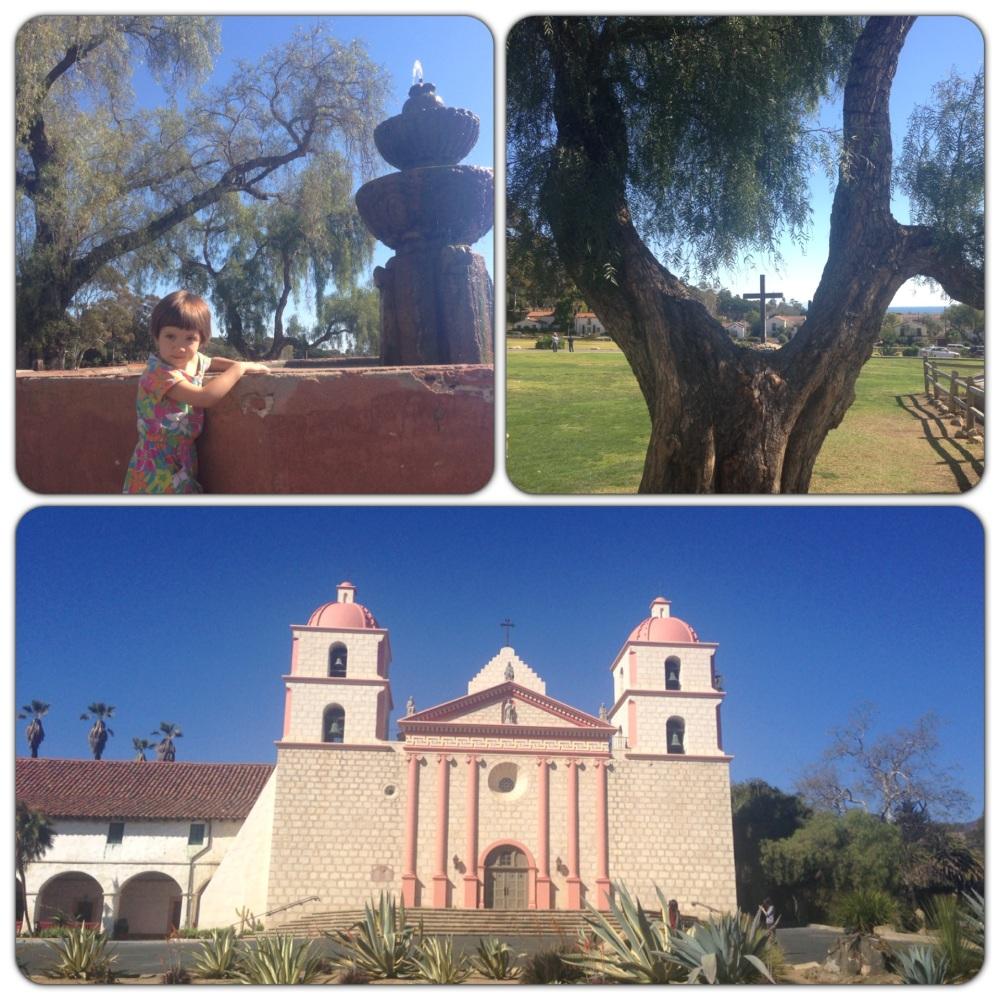 The Mission in Santa Barbara, California