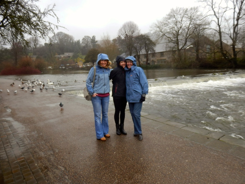 Wintery weather in Bakewell