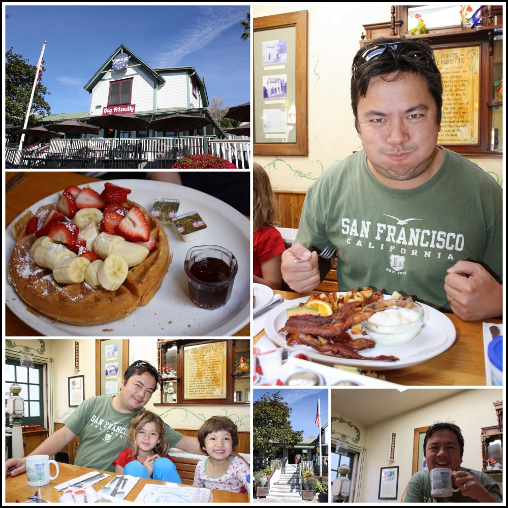 Breakfast at the Summerland Cafe