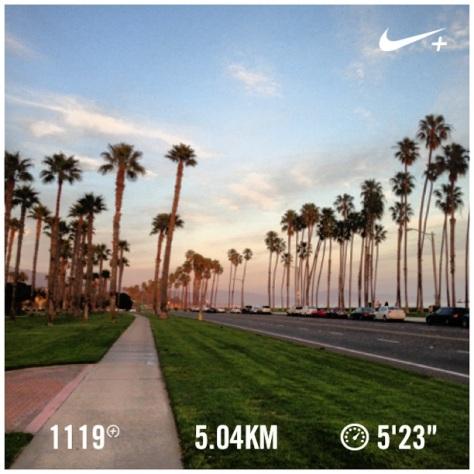 Tuesday night's run