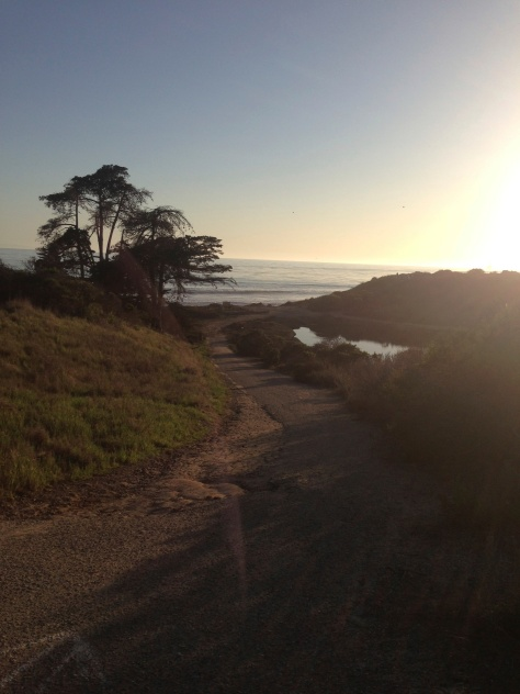Goleta cliff top UCSB