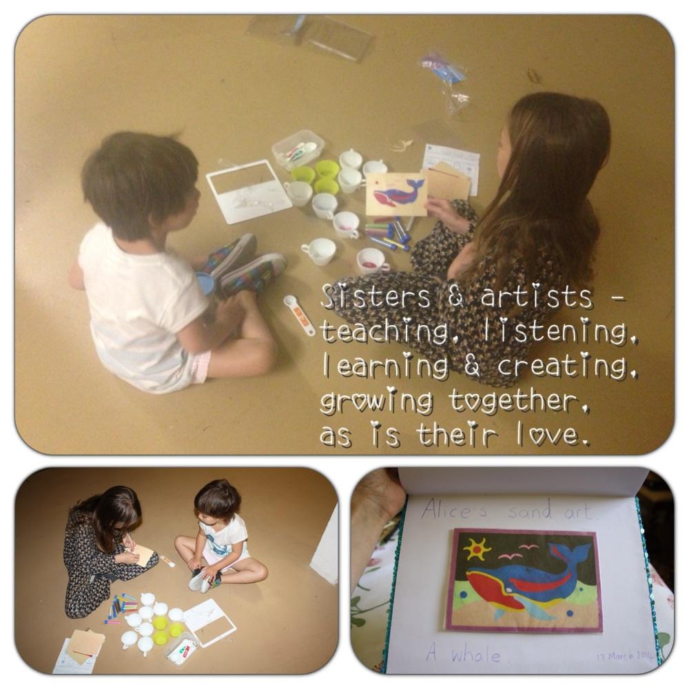 Creativity and sisterhood