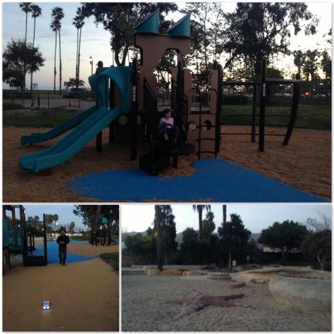 Ship wreck playground