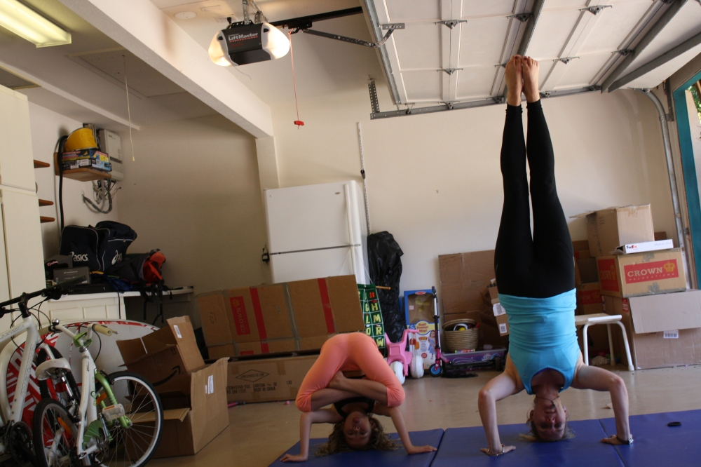 Headstand on turning forty!