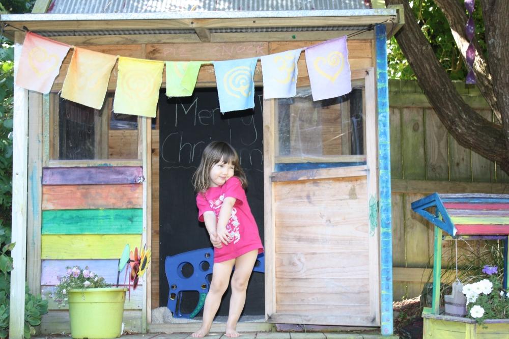 Kiwi fun for a 2 year old