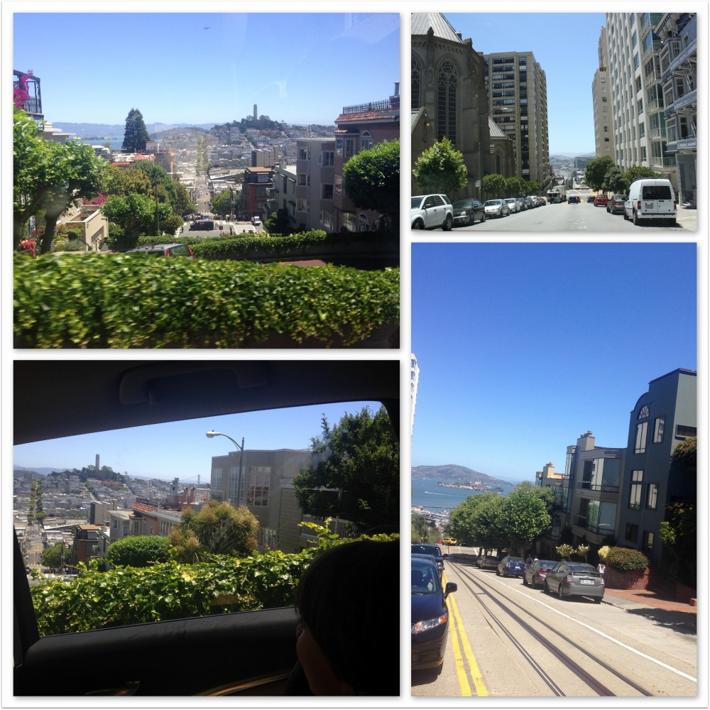 Hilly streets of San Francisco