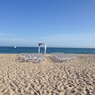 A mid-summer wedding