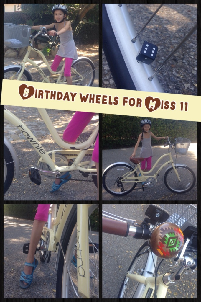Birthday wheels for Miss 11