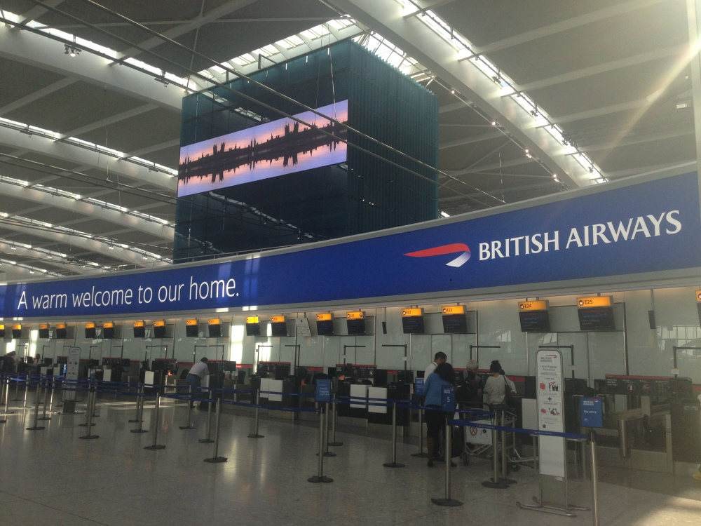 Terminal 5, London , Heathrow