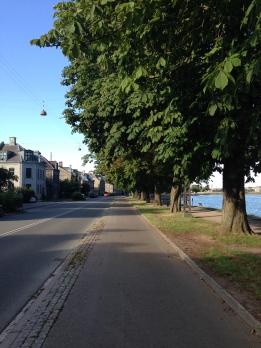 Roads leading off The Lakes, Copenhagen, worth exploring