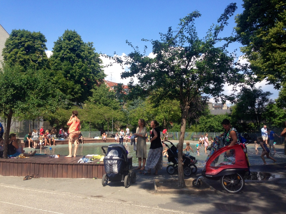 Playground and community hub in Copenhagen