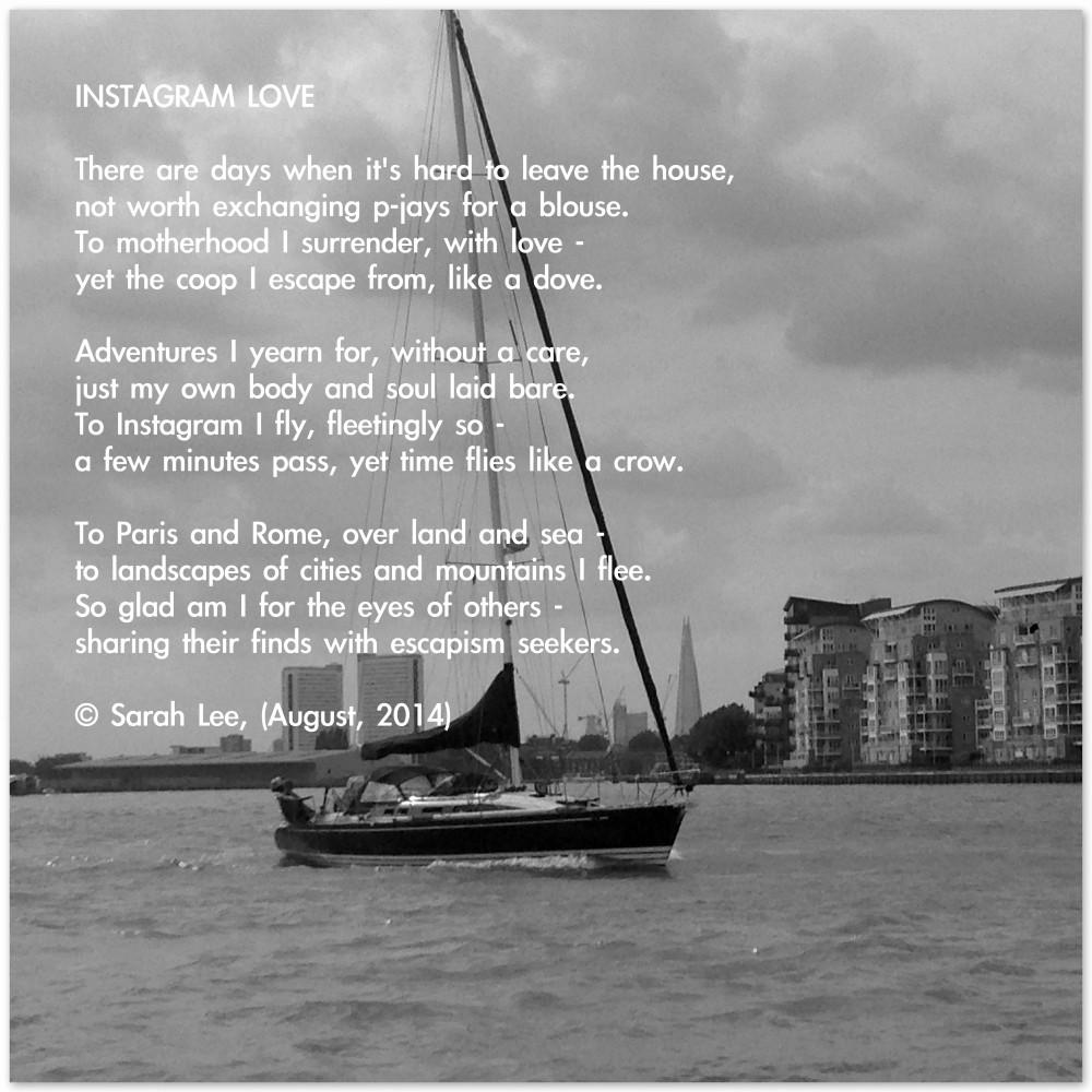 Instagram love - a poem by Sarah Lee