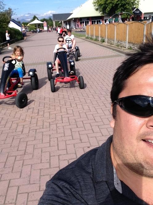 Go kart team!